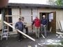 Renovierung Hütte 2017